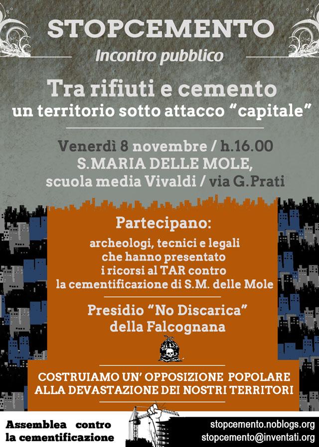 Incontro pubblico - scuola Vivaldi - S.Maria delle Mole - 8 novembre 2013